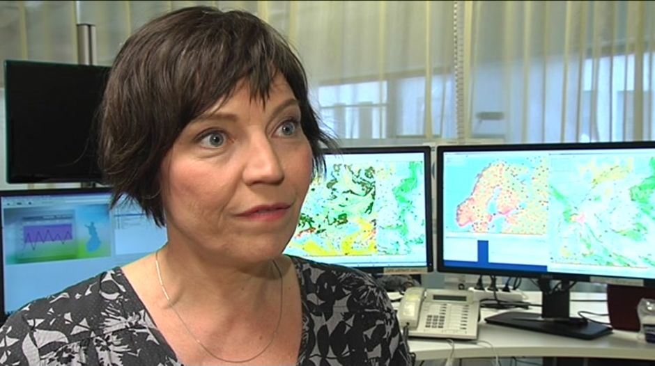 Meteorologen Anne Borgström om sommarvädret - 13-1-2916588